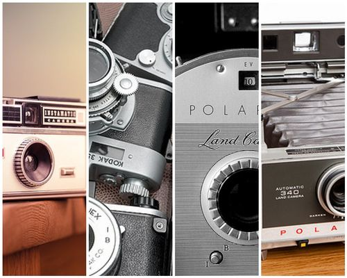 Camera collage - taking great blog photos