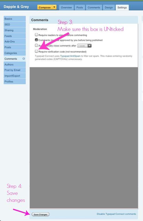 Word verification - screen shot 2